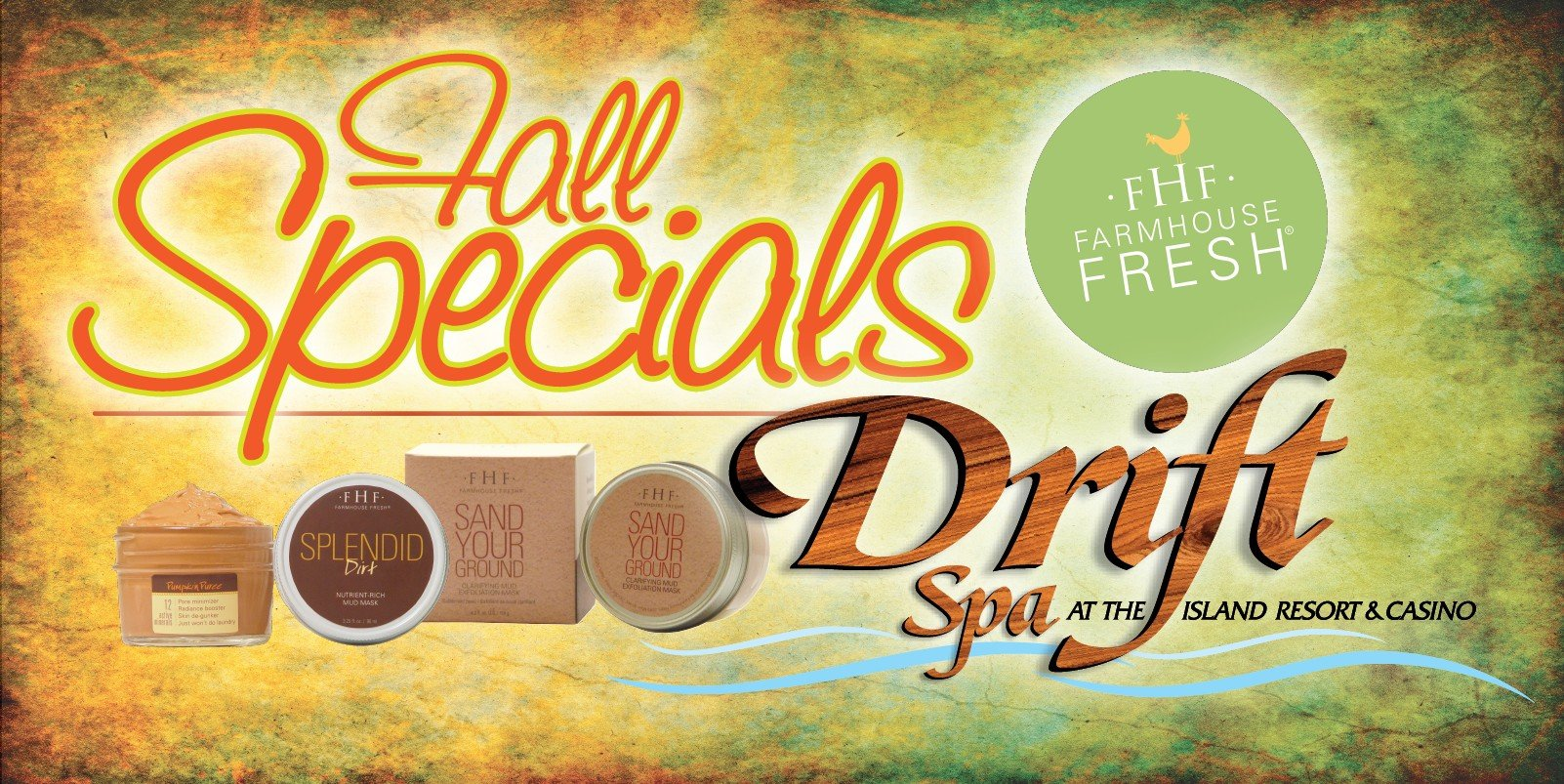 Web Header Drift Spa-Fall Specials