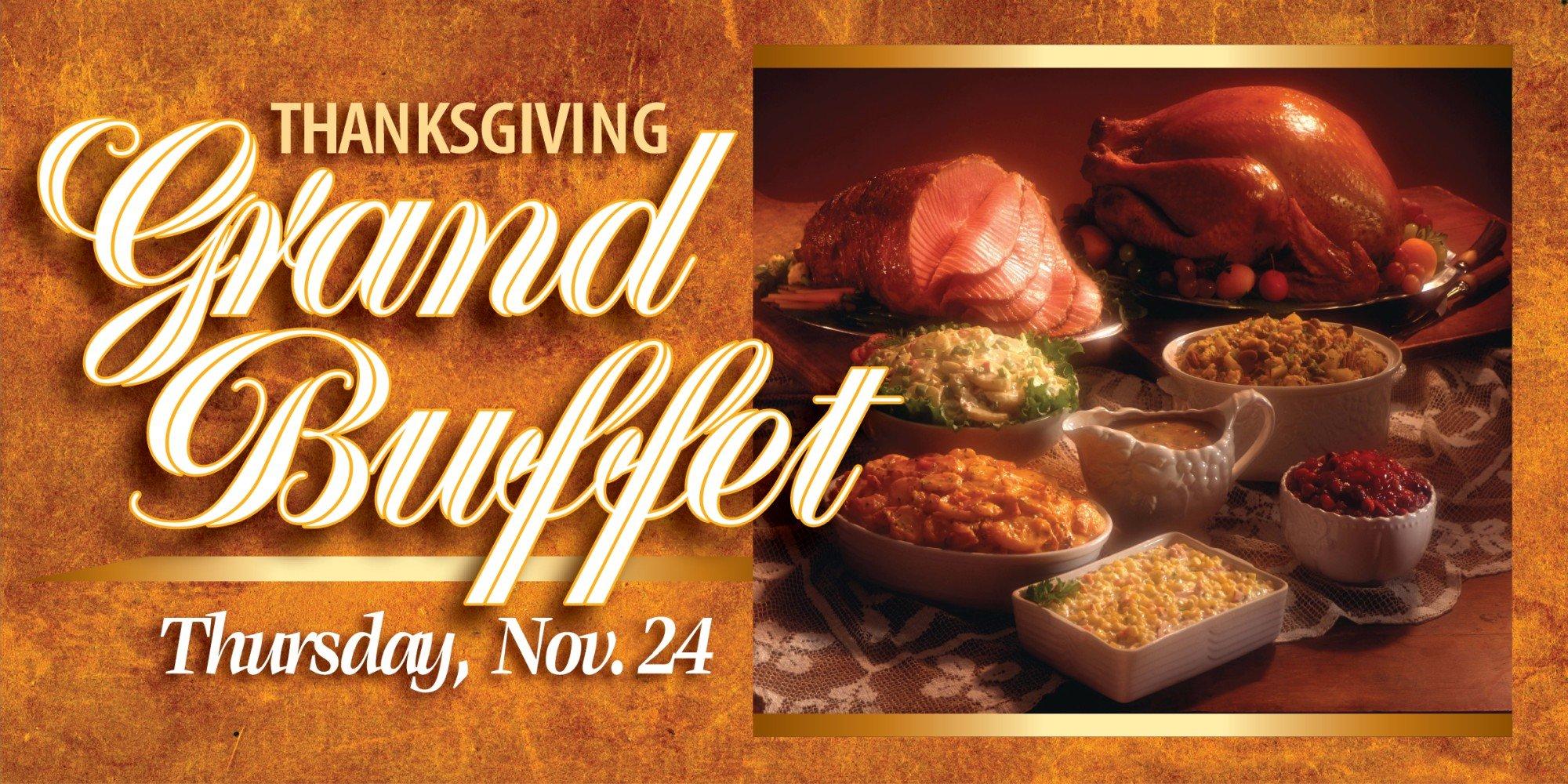 Web Header Promotion - Thanksgiving Grand Buffet