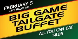 Big Game Tailgate Buffet Web Image