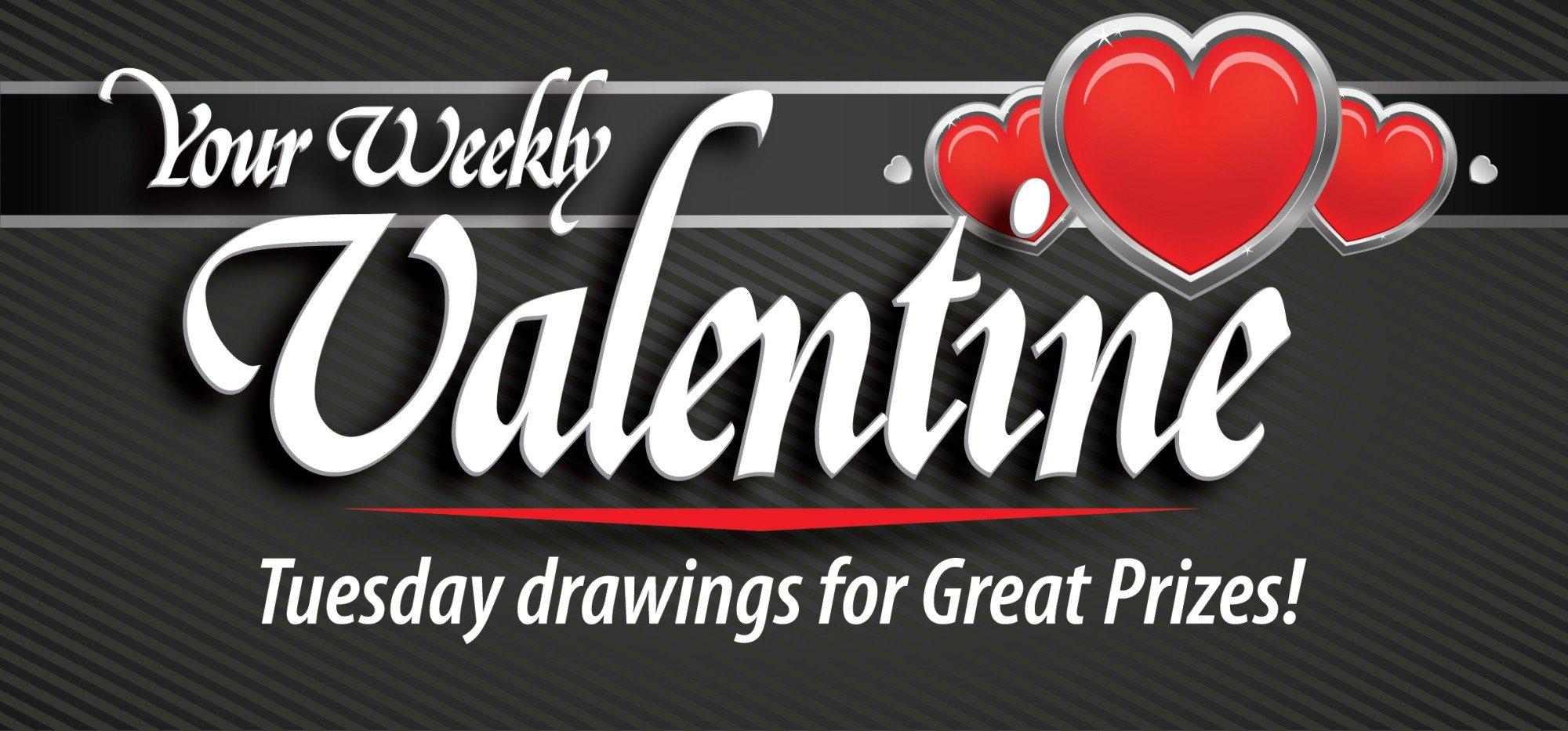 Web Header Promotion-February Weekly Valentine