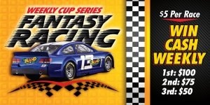 Web Header Promotion- Fantasy Racing