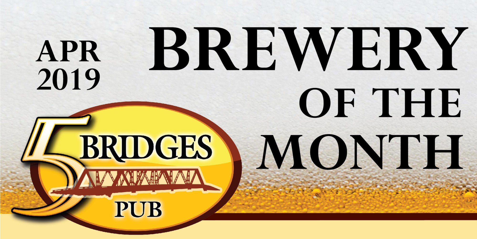 April 2019 Brewery of the Month