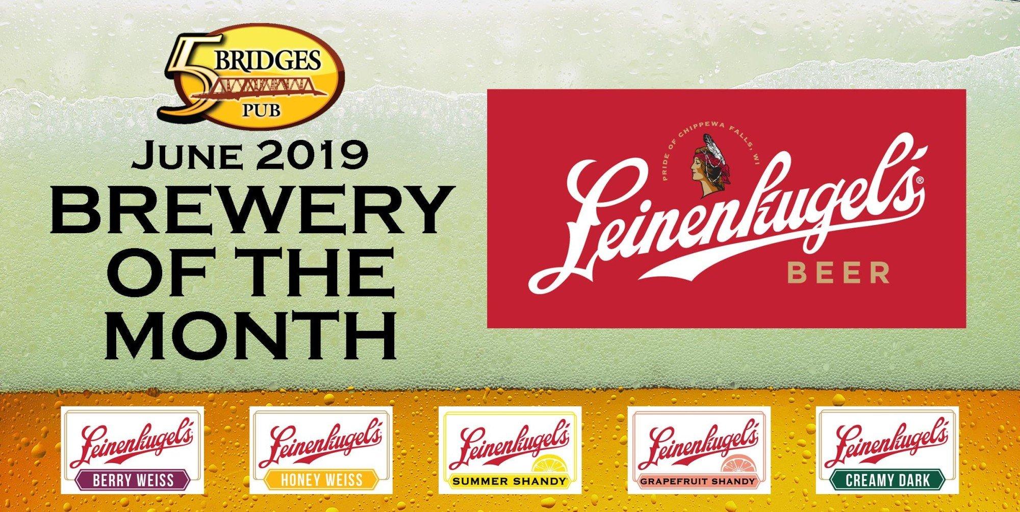June 2019 Brewery of the Month – Leinenkugel's