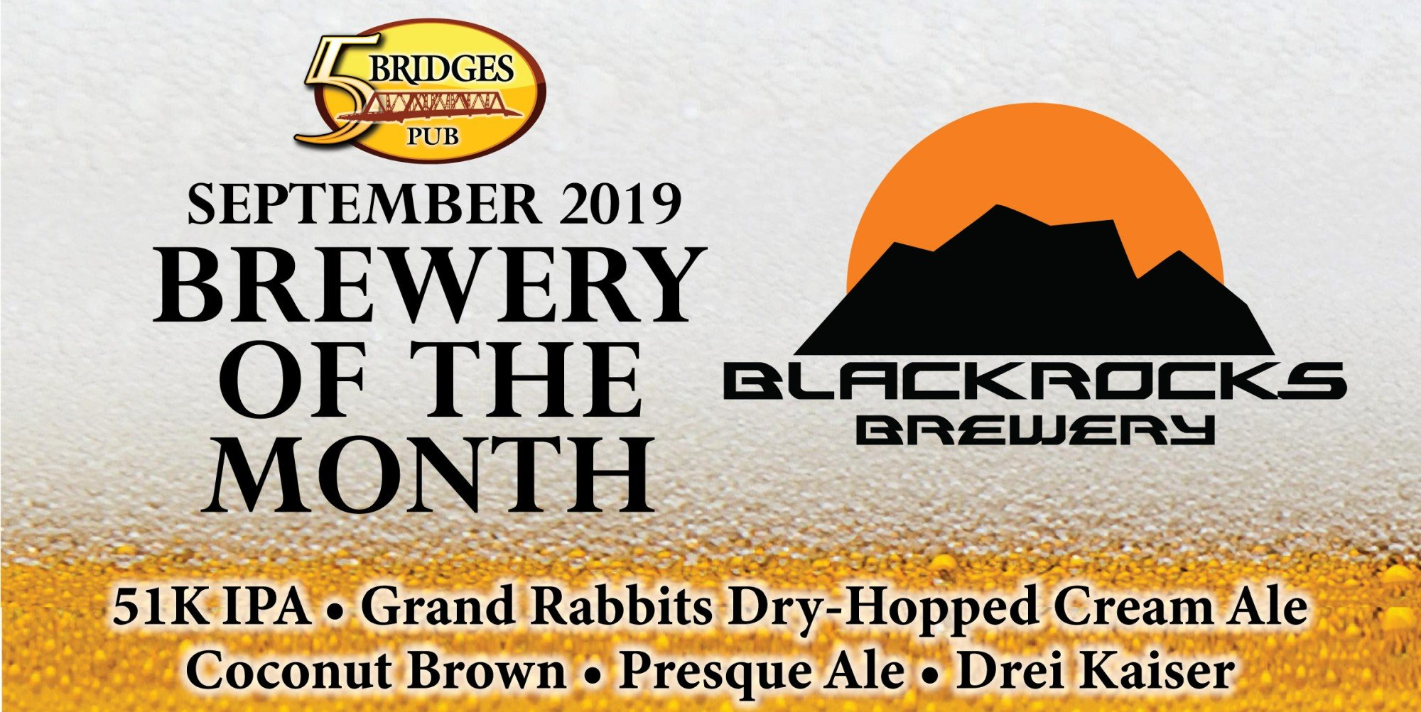 September Brewery of the Month – Blackrocks Brewery