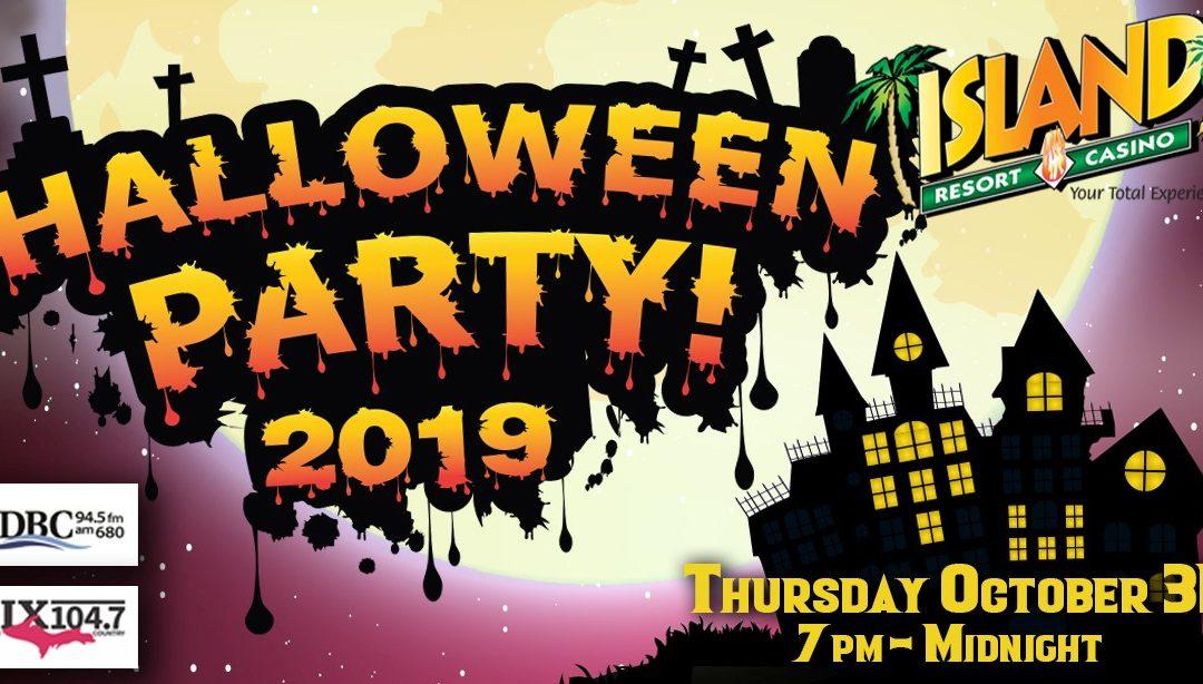 Island Halloween Party 2019