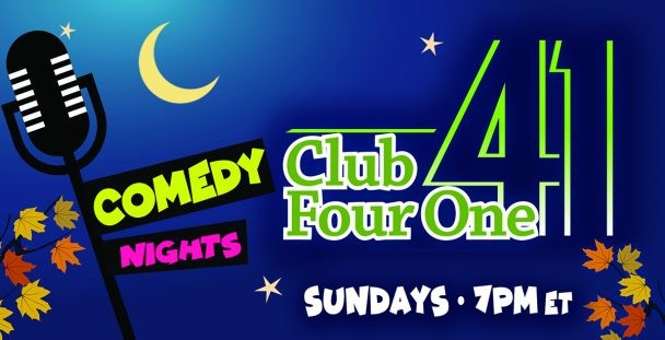 Comedy Nights in November at Club Four One.
