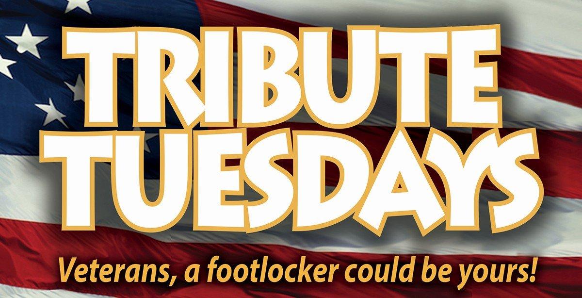 Tribute Tuesdays in November.