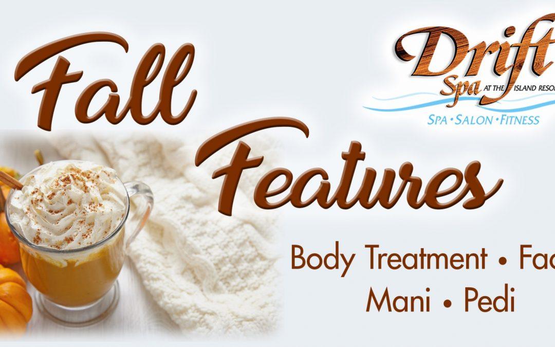 Drift Spa September Promotions