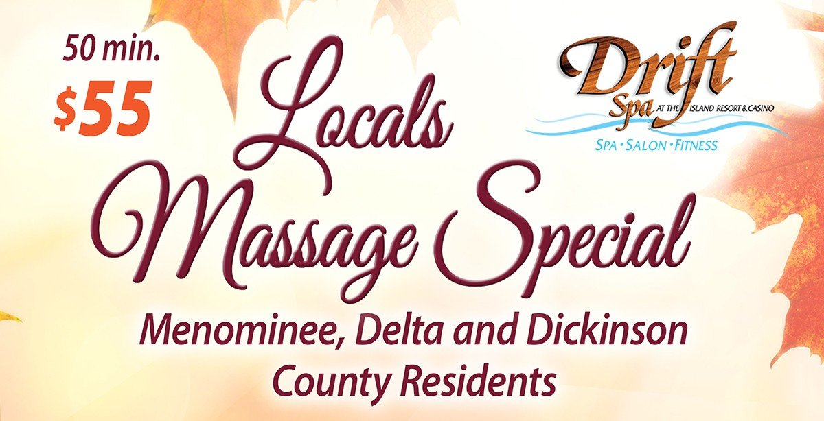 Drift Spa Promotions – November 2019
