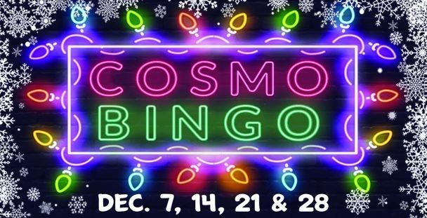 Cosmo Bingo in December