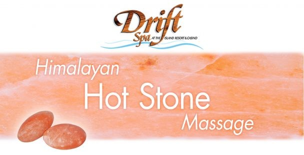 Hot Stone Massage at Drift Spa.