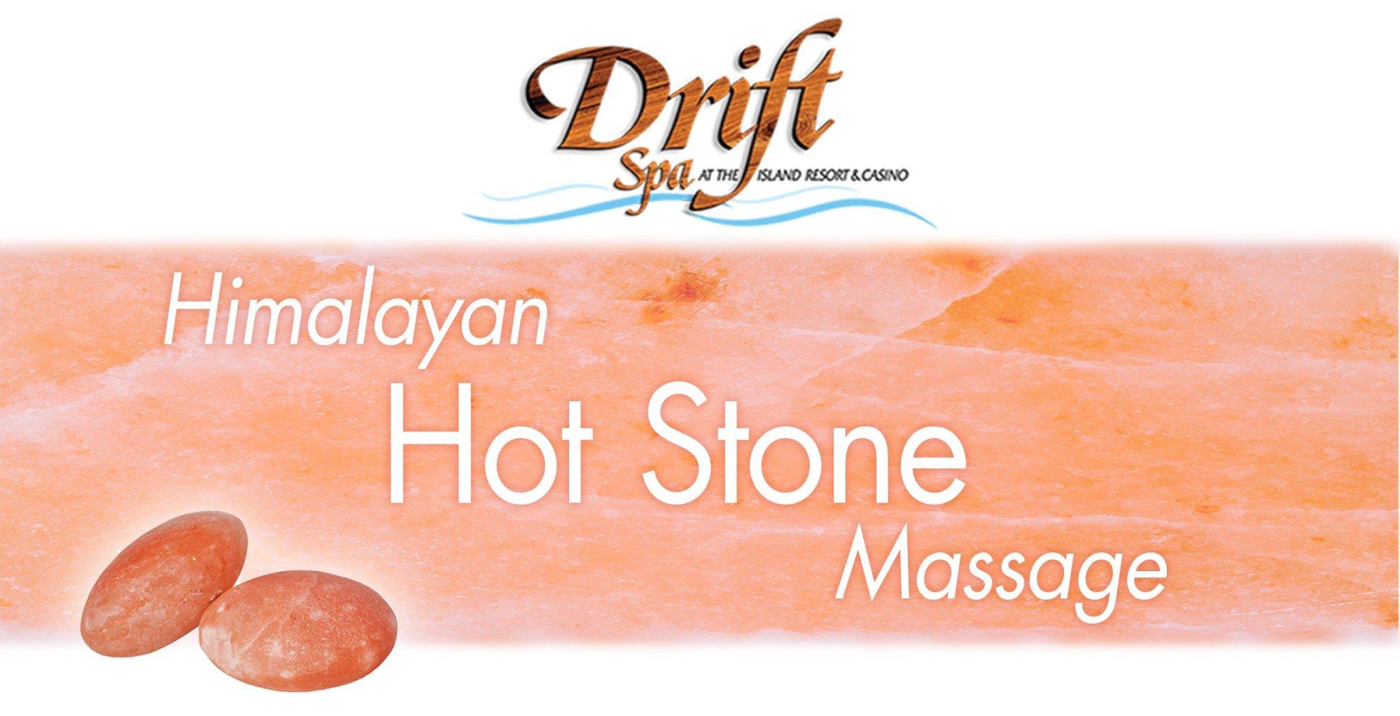 Hot Stone Massage at Drift Spa.