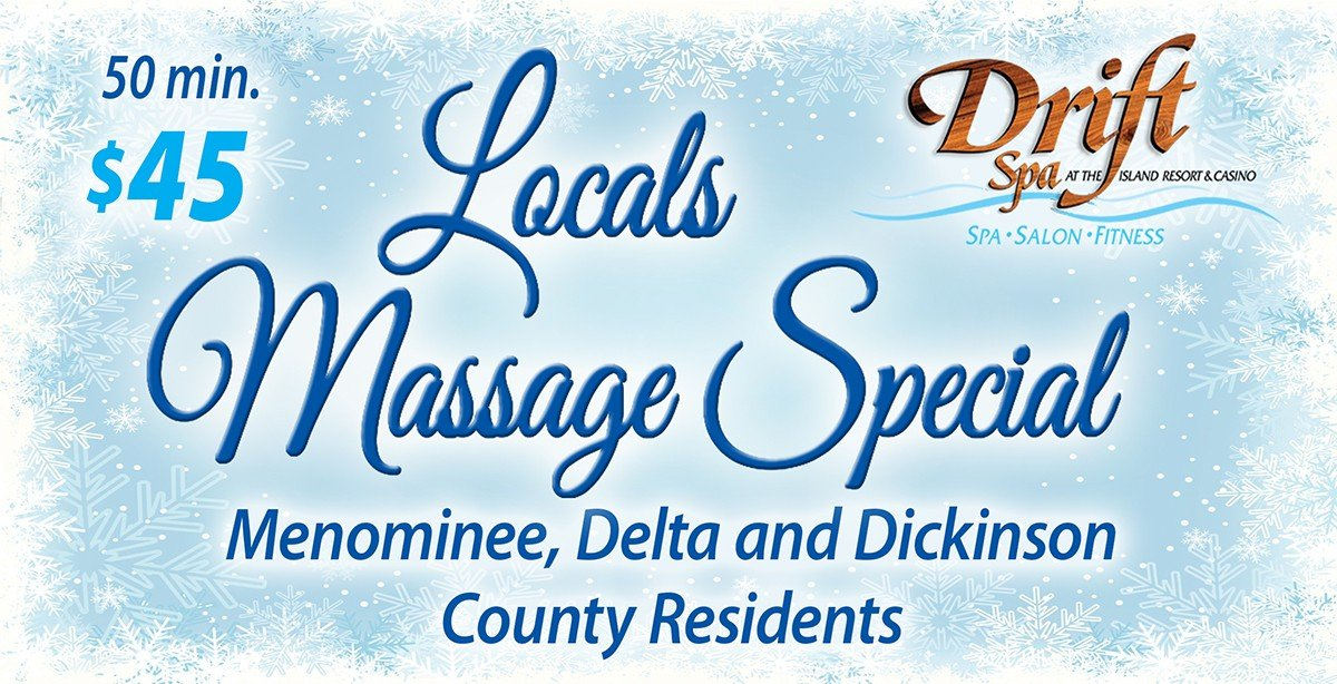 Local Massage Special at Drift Spa