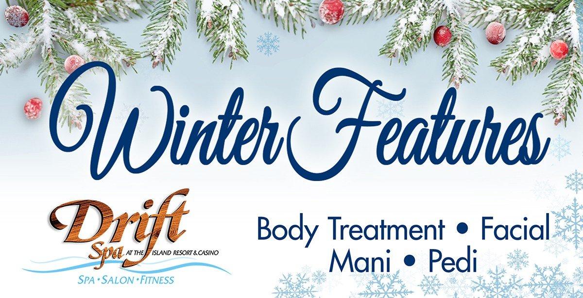 Winter Massage & Spa Specials.