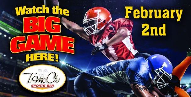 The Big Game at T. McC's