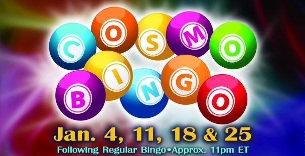 Cosmo Bingo in January 2020