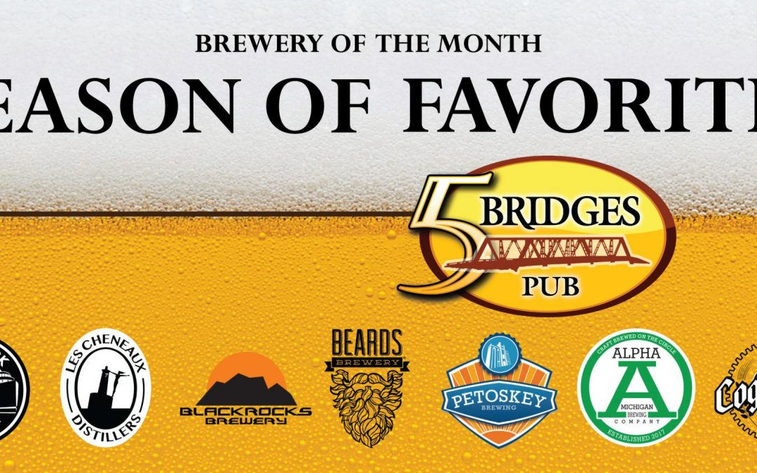 Brewery of the Month – Season of Favorites – February 2020