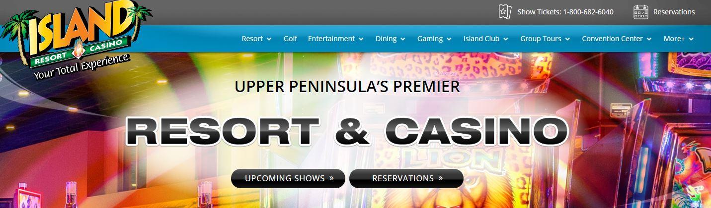 New Island Resort Website