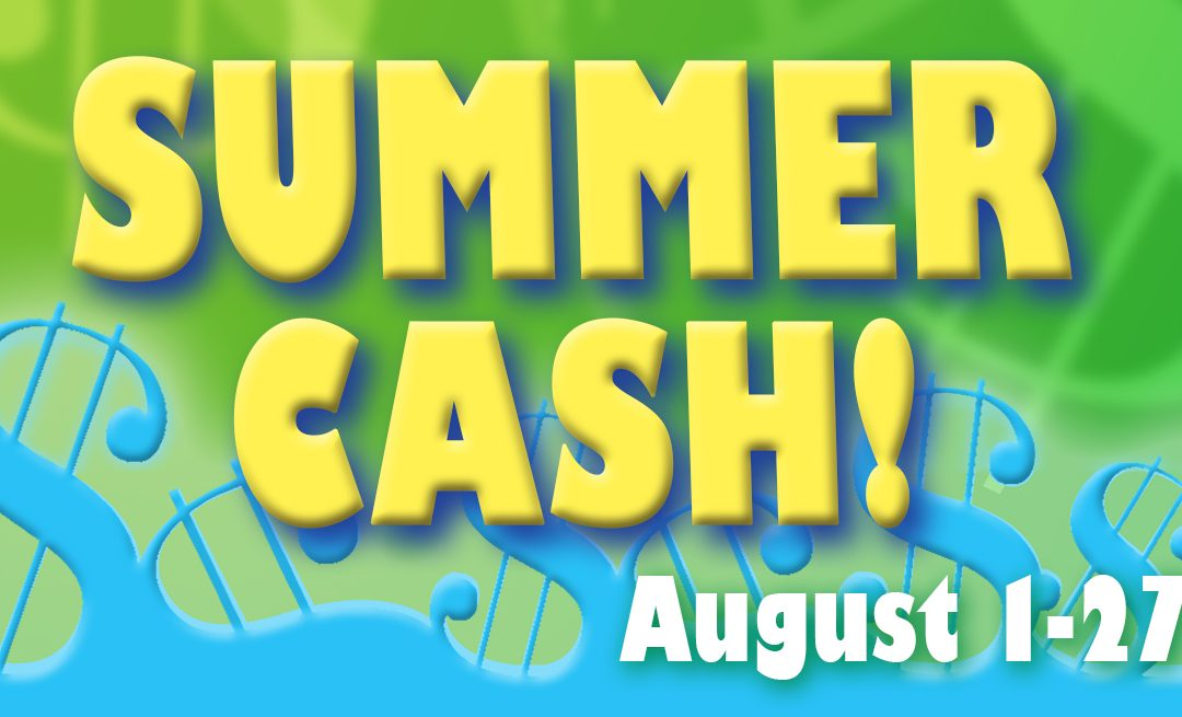 August 2020 Promos & Events