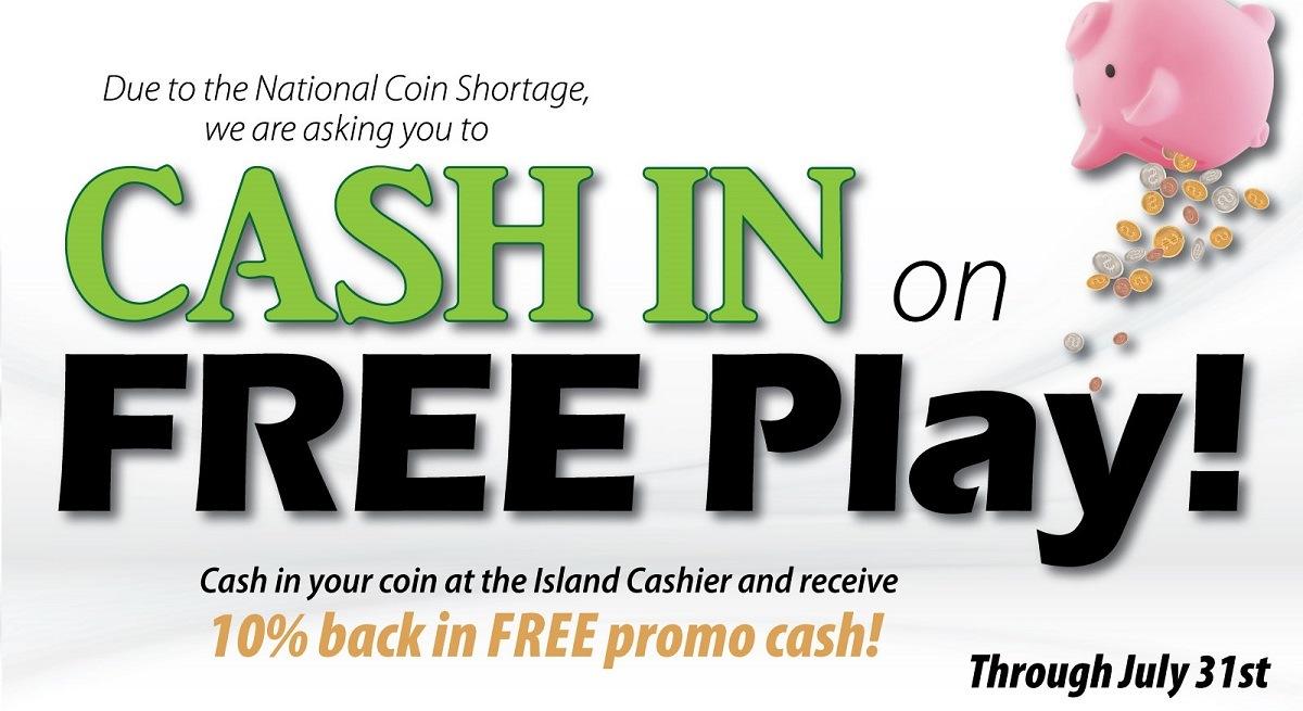 Cash In On Free Play Island Resort Casino