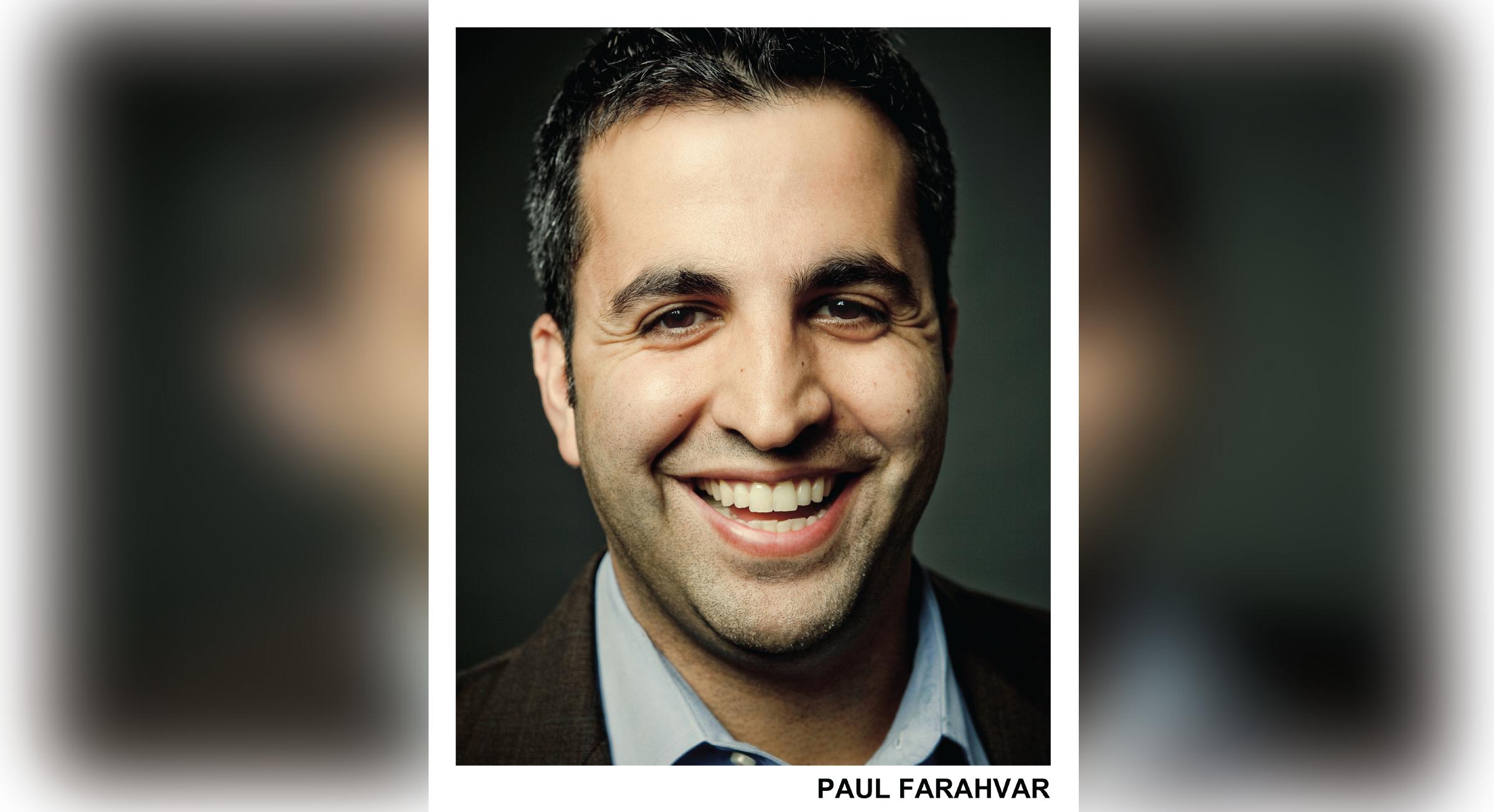 Comedian Paul Farahvar