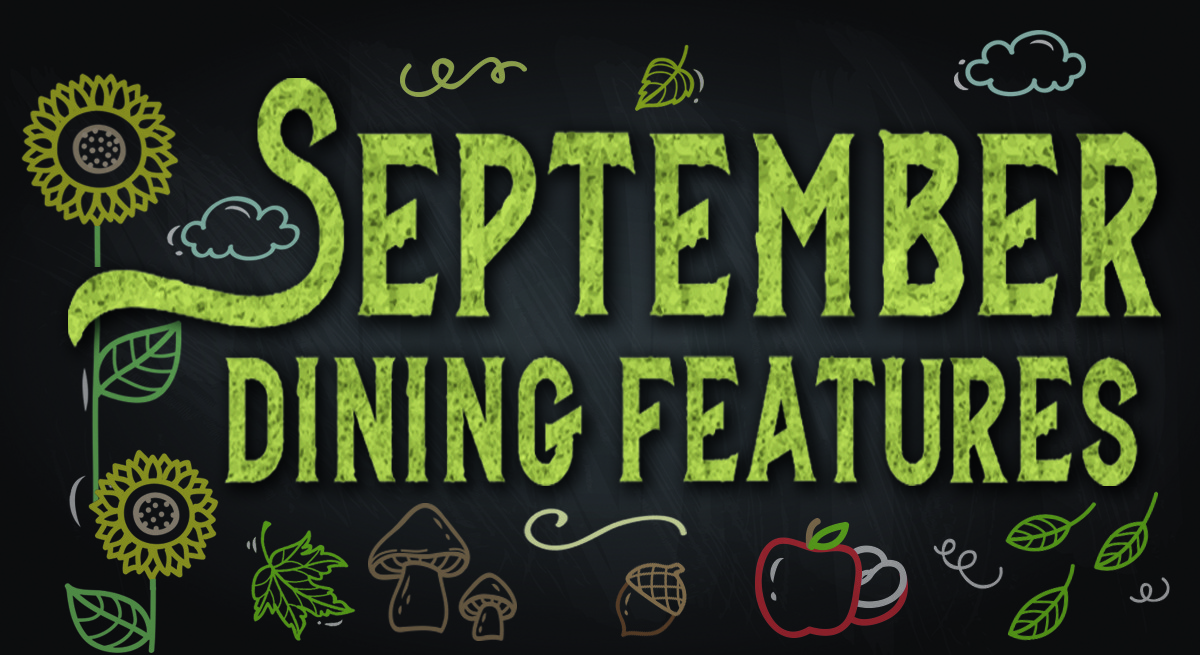 September Dining Specials at the Island