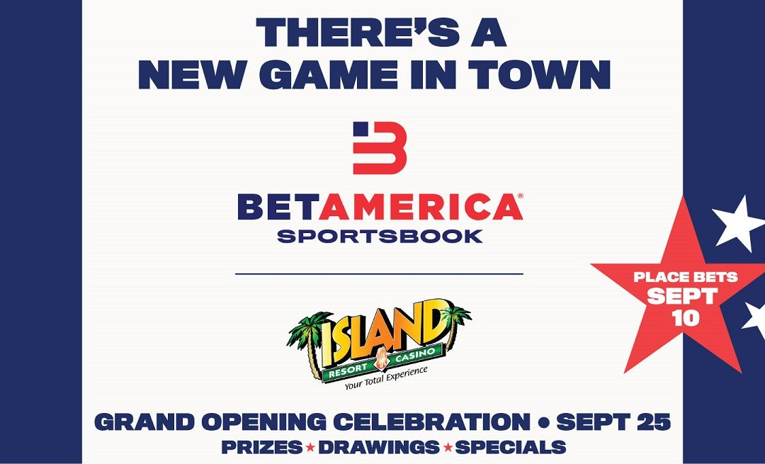 BetAmerica Sportsbook at Island Resort & Casino