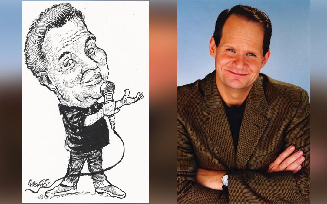 Comedians Bob Zany & Dobie Maxwell