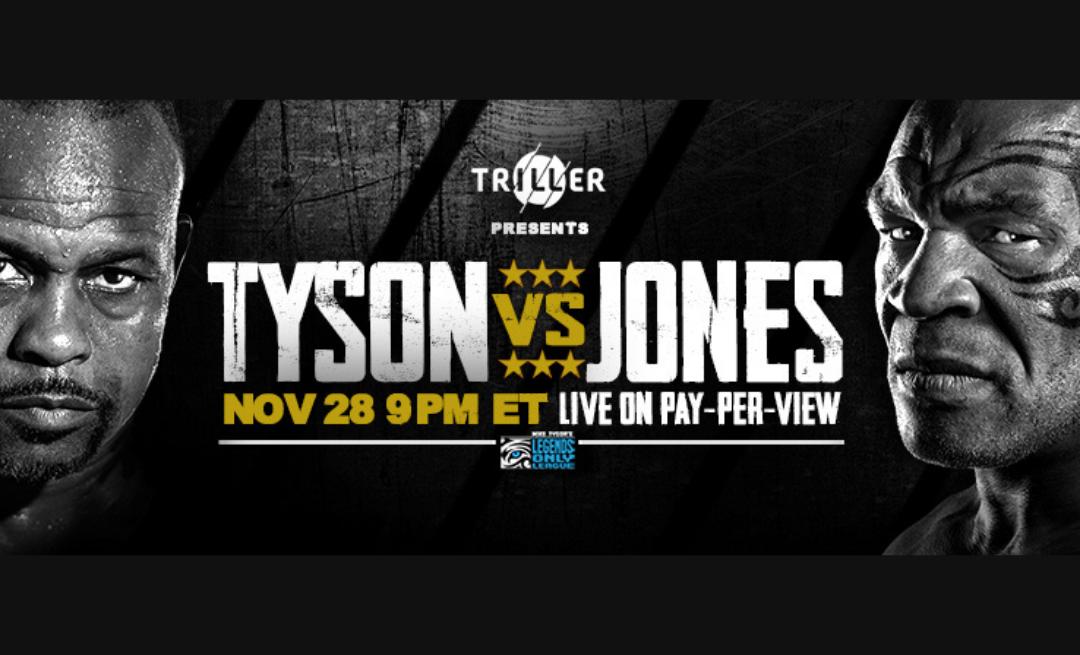Watch Tyson vs. Jones in T.McC's Sports Bar!