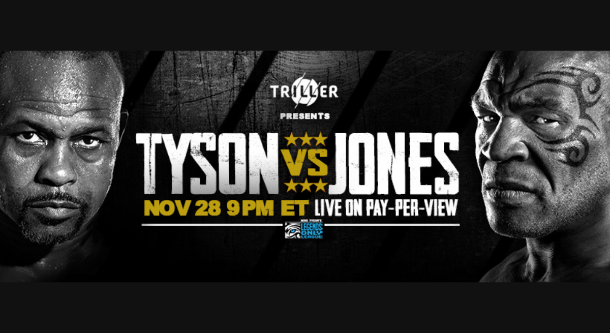 Watch Tyson vs. Jones in T.McC's Sports Bar!