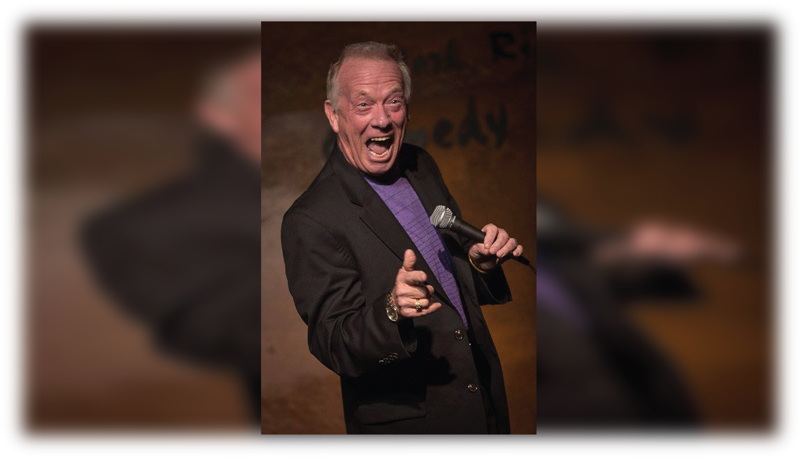 Comedian Norm Stulz