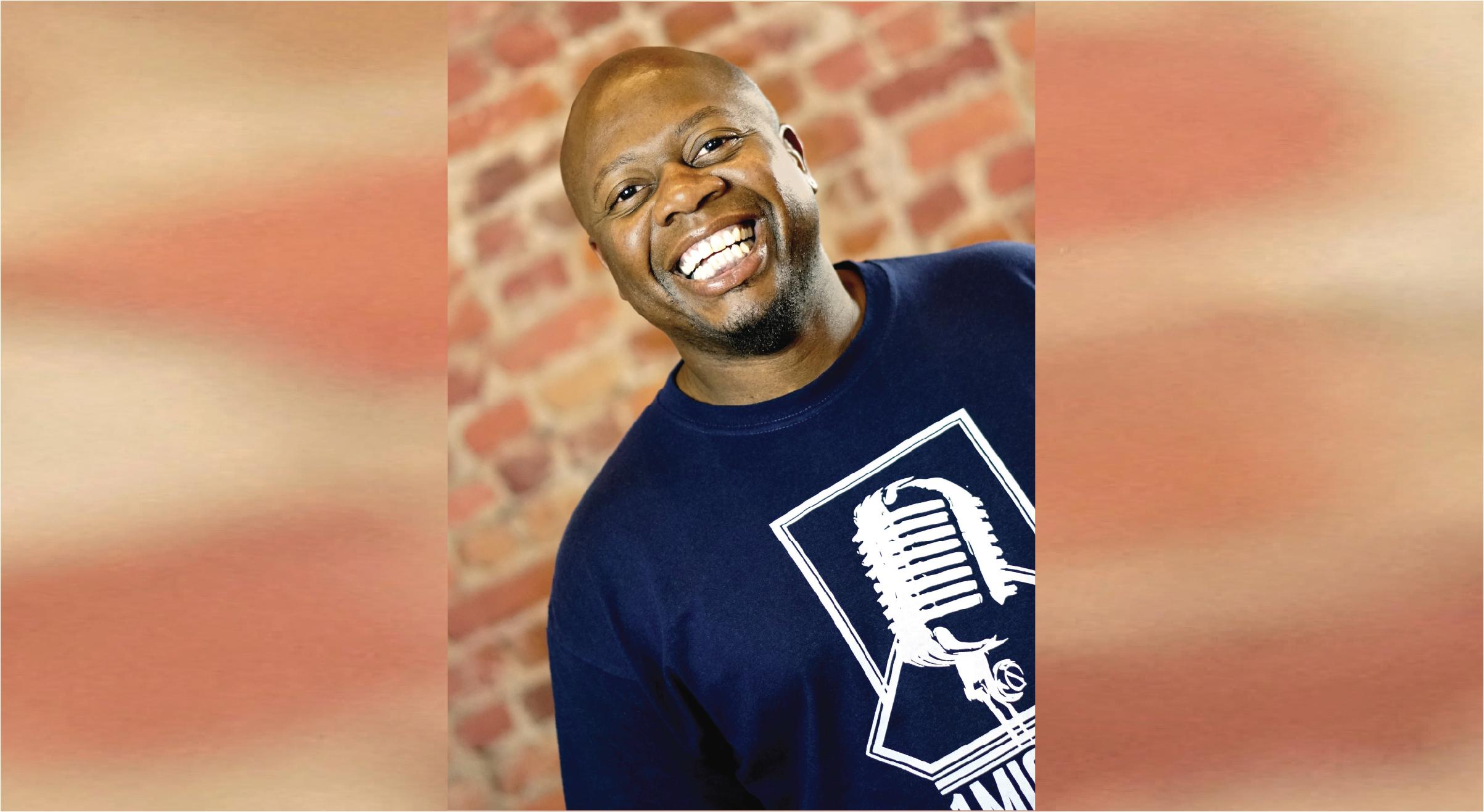 Comedian Adrian Washington