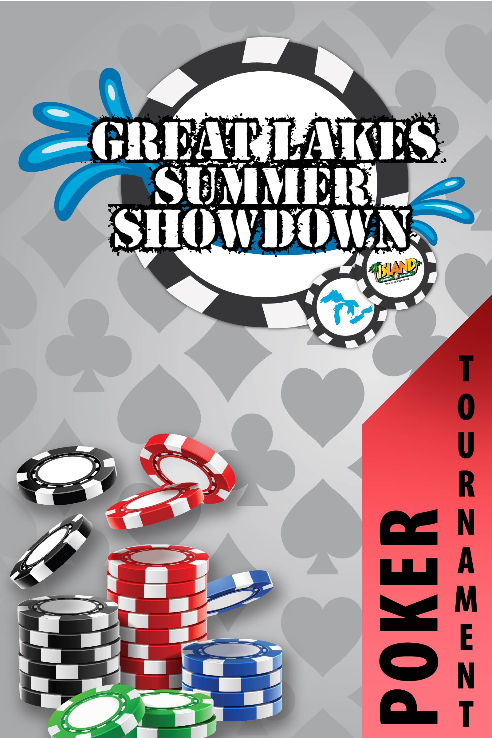 Great Lakes Summer Showdown – No Limit Texas Hold'Em