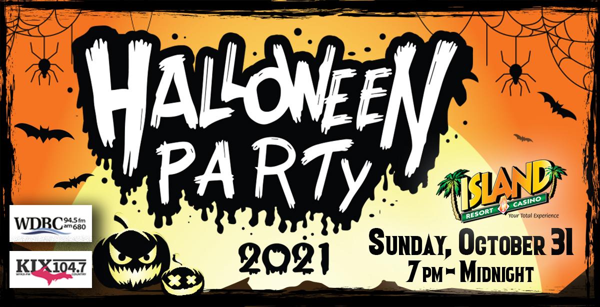 Island Halloween Party 2021