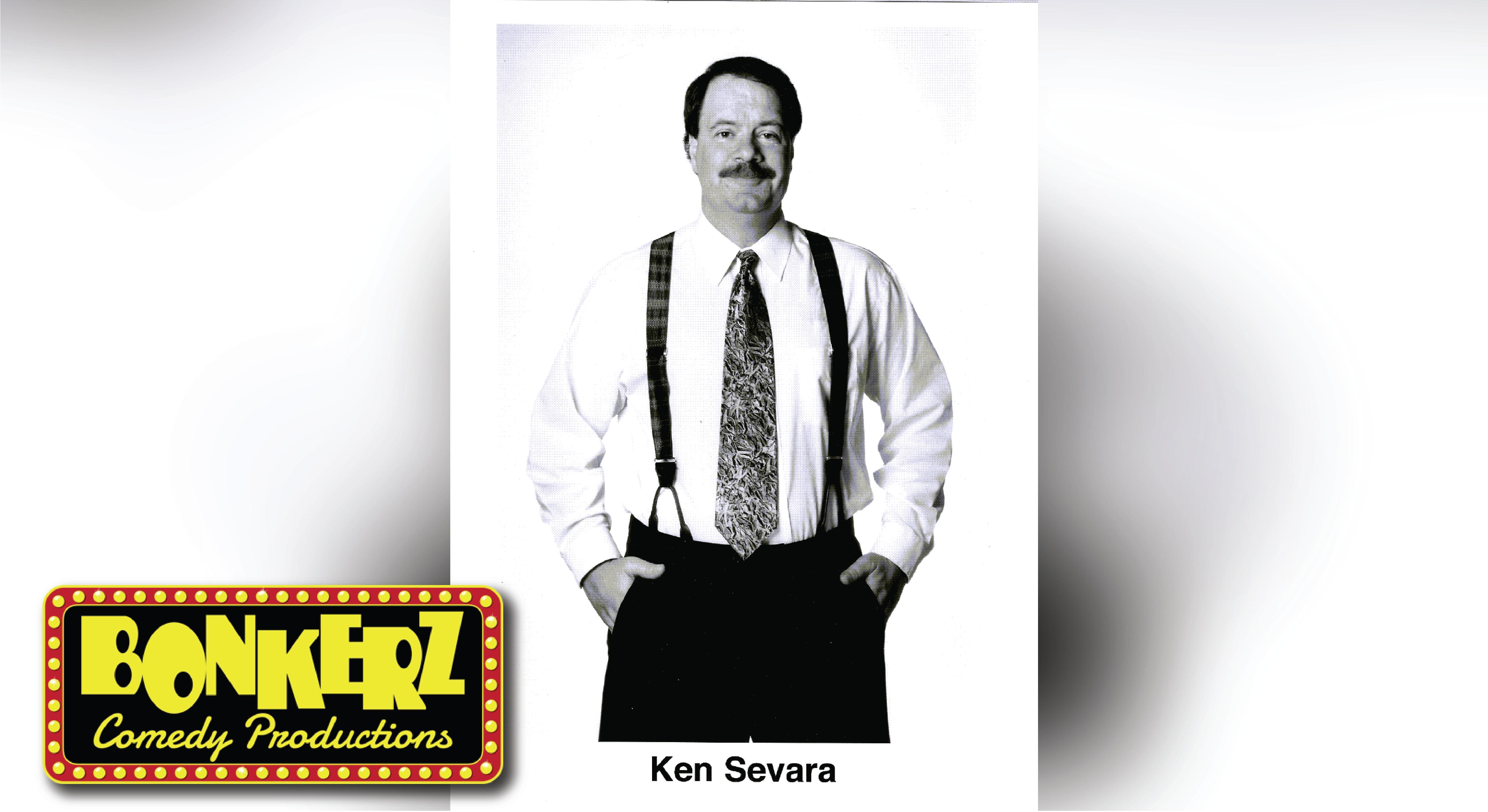 Comedian Ken Severa