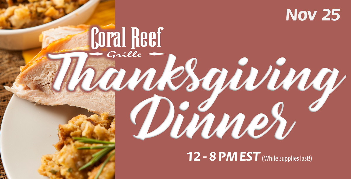 Let Us Do the Cooking This Thanksgiving!