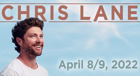 Chris Lane to Perform at Island Resort & Casino